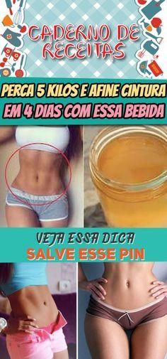 PERCA 5 KILOS E AFINE CINTURA EM 4 DIAS COM ESSA BEBIDA #perderpeso #afinarcintura #emagrecer #dieta