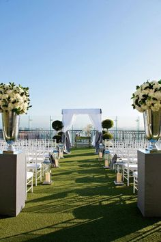 London hotel (west hollywood) - rooftop wedding ceremony