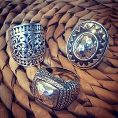 NEW IN! TRIBAL INSPIRATIONS | How divine are our new El Tribu rings?! Our Sheath Ring, El Tribu Ring and Hill Tribe Ring are not for the faint hearted. These statement pieces are brave, bold and beautiful. http://www.myjewelleryshop.com.au/shop/categories/Brands/Najo