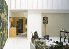 House for a Painter in a warehouse conversion by Dingle Price