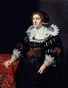 Michiel Jansz van Mierevelt Portret van een vrouw