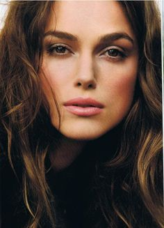 Keira Knightley. A lot of people say her and Natalie Portman look alike. I didn't see it until this pic. Wow.