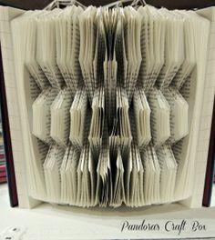 Book folding Origami Tutorial - Pandora's Craft Box