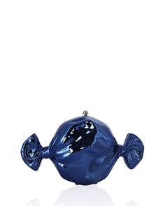 V2PXP Judith Leiber Couture Blueberry Candy Clutch Bag