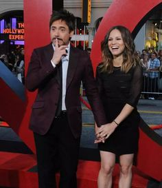 The cutest ♡ Robert Downey Jr and Suzan Downey ♡