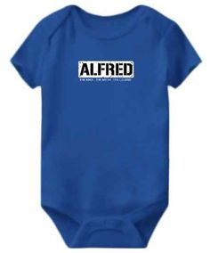 Vote For Alfred Baby Bodysuit