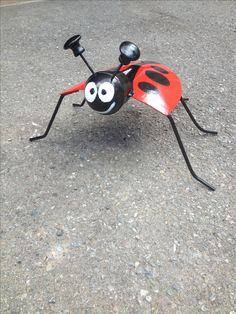 LadyBug Shovel Art