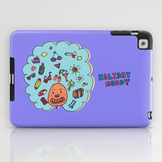 Holiday Mood!  iPad Case by PINT GRAPHICS - $60.00