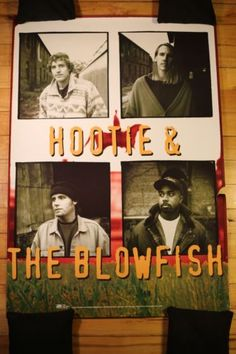 HOOTIE AND THE BLOWFISH - Rare Promotional Poster FOR SALE