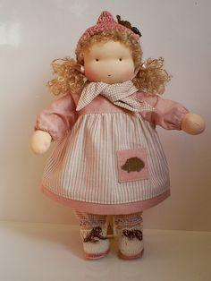 Waldorf doll                                                          by Fabrique Romantique