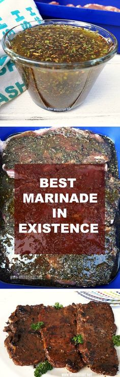 Best Marinade in Existence You have to try this Marinade ! It really is the Best Marinade in Existence ! Best Marinade in Existence You have to try this Marinade ! It really is the Best Marinade in Existence ! Steak Marinade Recipes, Marinade Sauce, Grilling Recipes, Sauce Recipes, Meat Recipes, Dinner Recipes, Cooking Recipes, Healthy Recipes, Soy Sauce