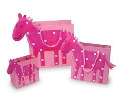 "Paper party bag set "" Horse """