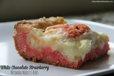 Mix and Match Mama: Bar #72: White Chocolate Strawberry Neiman Marcus