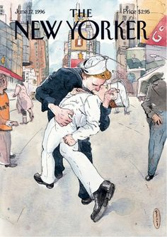 The New Yorker: June 17, 1996. Illustration: New Yorker covers chronicle changing attitudes towards gay rights