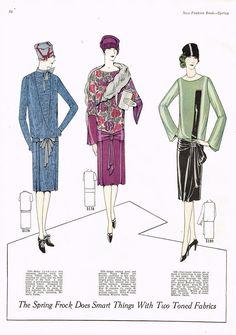 1920s Ladies Home Journal New Fashion Book 1926 1927 Pattern Catalog Ebook CD   eBay