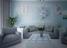 Individual house interiors