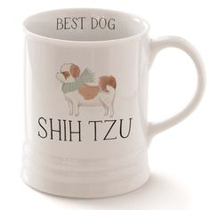 FRINGE STUDIO Fringe JS Shih Tzu Mug (481304) *** Click on the image for additional details. (This is an affiliate link and I receive a commission for the sales)