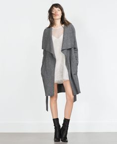 ZARA - WOMAN - WOOL COAT (would be best in black)