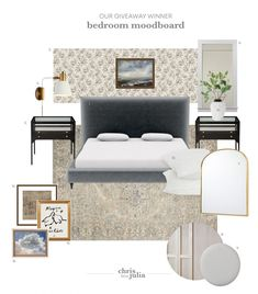 5 Go-To Resources for Making a Moodboard - Chris Loves Julia White Bedding, Bedding Sets, Master Bedroom, Bedroom Decor, Calm Bedroom, Bedroom Retreat, Chris Loves Julia, Tall Headboard, White Walls