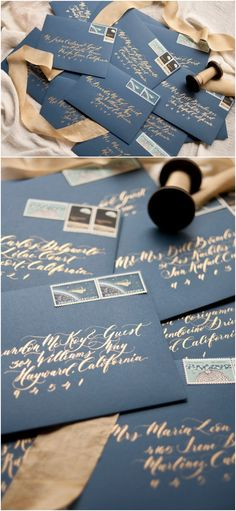 Calligraphy Addressing for Wedding/Invitation in Sarah Style