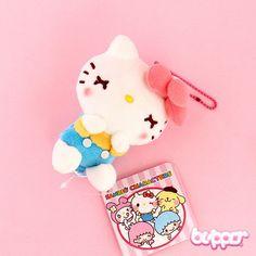 Sleepy Hello Kitty Ribbon Charm