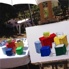 Color Block Studies | How to Paint Plein Air