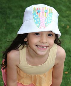 Look what I found on #zulily! White Olivia the Owl Hat by Wiggy Studio #zulilyfinds