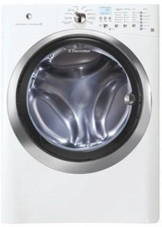 IQ-Touch 4.07 Cu. Ft. White #Stackable With Steam Cycle #Front Load Washer - Energy Star