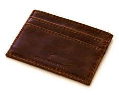 Made in Mayhem Carr Card Holder Chestnut – Stytched