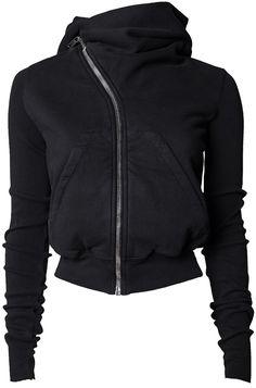 Rick Owens DRKSHDW | Mountain short hoodie