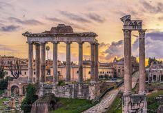 Tempio di Saturno by ValerioAbbonizio