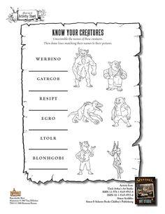 Spiderwick - Know Your Creatures