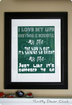 How to make your own printables from Thrifty Decor Chick
