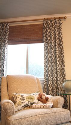 Living/Dining Room Curtains: American Living Rod-Pocket Drapery ...