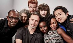THE CAST OF TWD