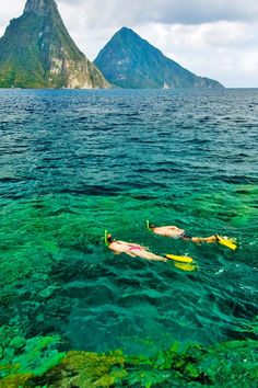 St Lucia = spectacular snorkeling just offshore, plus sailing, sea kayaking and scuba diving. Anse Chastanet Resort (Soufriere, St Lucia) - Jetsetter