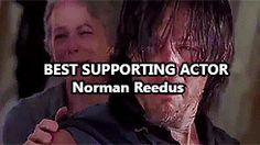 [Gif] Nominated for best supporting actor in a television series-Saturn Awards 2015