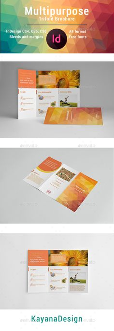 Kindergarten Brochure Templates  Free Psd Eps Ai Indesign