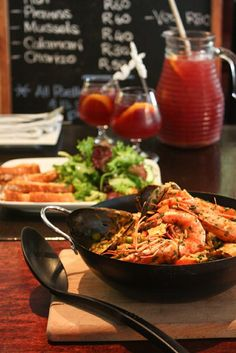 Restaurants - B-Guided Cape Town, Paella, Blazers, Restaurants, Foods, Ethnic Recipes, Diners, Food Food, Food Items