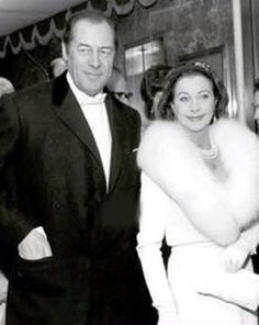 With Rex Harrison at the premiere of My Fair Lady, 1964.