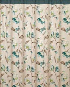 Isabelle Floral Fabric Bathroom Shower Curtain Saturday Knight http://www.amazon.com/dp/B008QX2IZS/ref=cm_sw_r_pi_dp_xtrXtb18M6WV3VCX
