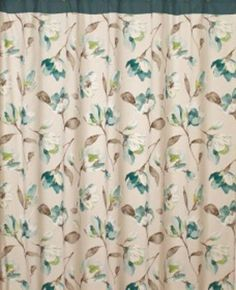 Isabelle Floral Fabric Bathroom Shower Curtain Saturday Knight http://www.amazon.com/dp/B008QX2IZS/ref=cm_sw_r_pi_dp_xtrXtb18M6WV3VCX