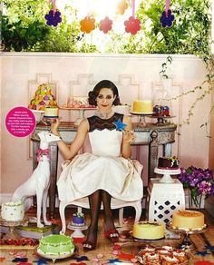 """Party Ready"": Emmy Rossum by Chris Craymer for O Magazine"