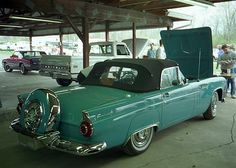 1956 Ford Thunderbird with continental kit