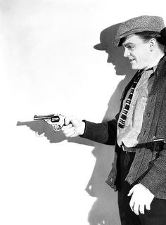 James Cagney photographed for The Public Enemy, 1931.
