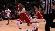 Who can bring back the no-look pass from its cliched grave? Ohio State's D'Angelo Russell, that's who. Fantasy Basketball, Basketball Shoes For Men, Basketball Court, Ohio State Basketball, Pure Products, Plays, Trainers, Sports, Key