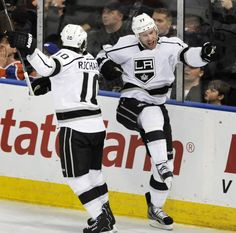 @lakings #lakingspin Jeff Carter and Mike Richards