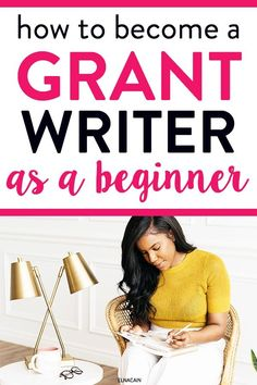 Want to be a freelance writer? Here is how to become a grant writer and find some grant writing jobs as a new freelance writer. Get your home business up and work from home as a grant writer or proposal writer. Grant Proposal, Online Writing Jobs, Freelance Writing Jobs, Business Writing, Grant Writing, Writing Tips, Writing Posters, Make Money Writing, Amigurumi