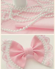 Diy Crafts - ♡ Princess Chanel ♡ Hope you loves have a fabulous summer♡ Making Hair Bows, Diy Hair Bows, Diy Bow, Diy Ribbon, Ribbon Crafts, Ribbon Bows, Ribbons, Hair Bow Tutorial, Lace Bows