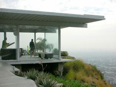 The Stahl House by Pierre Koenig - Its a classic and the view over LA is priceless...